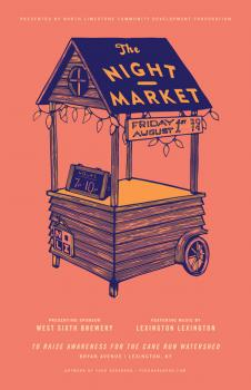 North Limestone CDC presents the Night market August Edition
